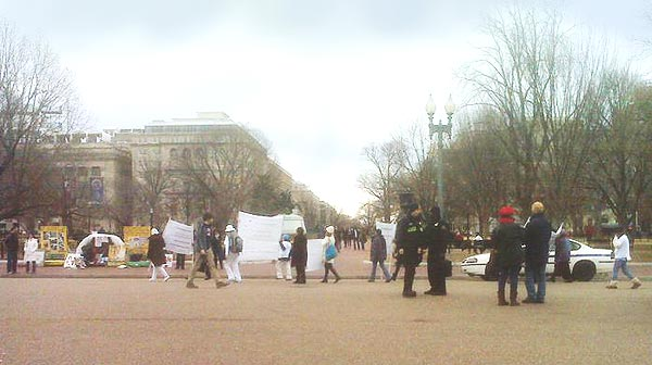 Feb 2011 Protest at White House Pic #10