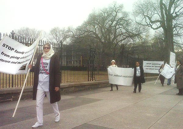 Feb 2011 Protest at White House Pic #2