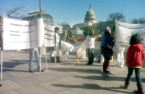 Feb 2011 Protest at White House Pic #4