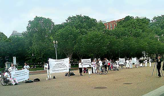 May 2011 Protest at White House Pic #7